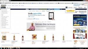 Amazon - Tim Ash sieht in der Umsetzung des Responsive-Layout von Amazon ein Negativ-Beispiel