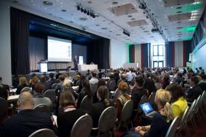 Prall gefüllte Säle auf der Conversion Conference 2014
