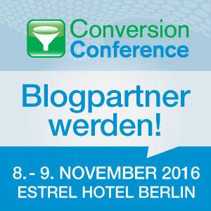 Blogpartner werden!
